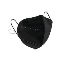 Mascherina My Mask Pro Nera Respiratoria Filtrante FFP2 Certificata CE 1 Mascherina