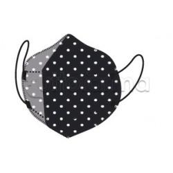 Mascherina My Mask Pro Respiratoria Filtrante FFP2 Certificata CE  Fantasia a Pois 1 Mascherina