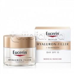 Eucerin Hyaluron Filler Elasticity Crema Giorno Viso Spf15 50ml