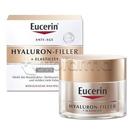 Eucerin Hyaluron Filler Elasticity Crema Anti-Età Notte Viso 50ml
