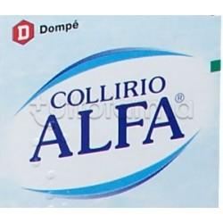 Alfa Collirio Monodose Idratante e Lubrificante 20 Flaconcini 0,5ml