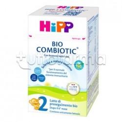 Hipp Latte Combiotic 2 di Proseguimento Biologico in Polvere 600g