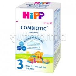 Hipp Latte Combiotic 3 Crescita in Polvere 600g
