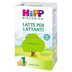 Hipp Latte 1 per Lattanti Biologico in Polvere 600g