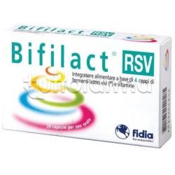 Bifilact Rsv Integratore Intestinale 20 Capsule
