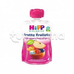 Hipp Biologico Frutta Frullata Mela Pesca e Frutti di Bosco 90g