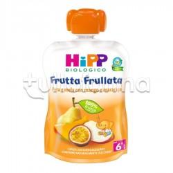 Hipp Biologico Frutta Frullata Pera e Mela con Mango e Maracuja 90g