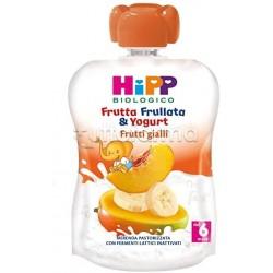 Hipp Biologico Frutta Frullata Frutti Gialli e Yogurt 90g