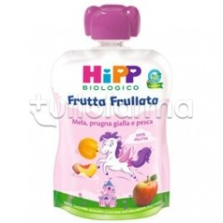 Hipp Biologico Frutta Frullata Mela Prugna Gialla e Pesca 90g