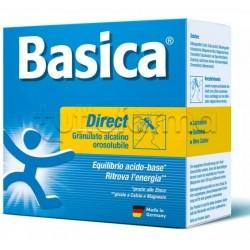 Basica Direct Integratore con Sali Minerali e Oligoelementi 30 Bustine Orosolubili