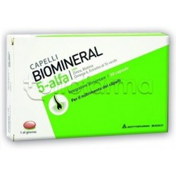 Biomineral 5 Alfa Integratore Capelli 30 Capsule