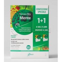 Aboca Natura Mix Advanced Mente Concentrato Fluido Confezione Omaggio 10 Flaconcini+ 10 Flaconcini