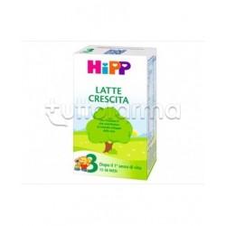 Hipp Latte 3 Crescita Per Lattanti In Polvere 500g
