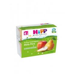 Hipp Biologico Frutta Grattugiata Mela e Pera 4 x 100g