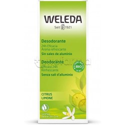 Weleda Deodorante Al Limone Spray 100ml