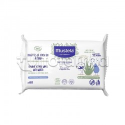 Mustela Bio Salviette All'Acqua in Cotone 60 Pezzi