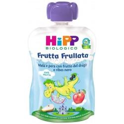Hipp Biologico Frutta Frullata Mela Pera e Frutto del Drago 90g