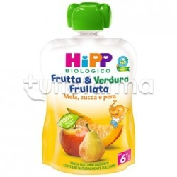 Hipp Biologico Frutta&Verdura Mela Zucca e Pera 90g
