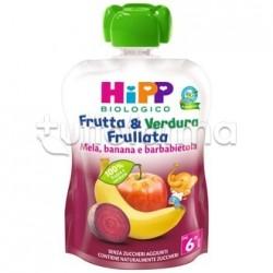 Hipp Biologico Frutta&Verdura Mela Banana e Barbabietola 90g