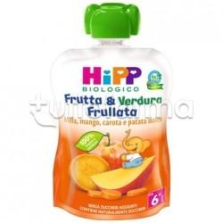 Hipp Biologico Frutta&Verdura Mela Mango Carota e Patata Dolce 90g