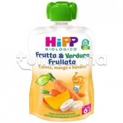 Hipp Biologico Frutta&Verdura Carota Mango e Banana 90g