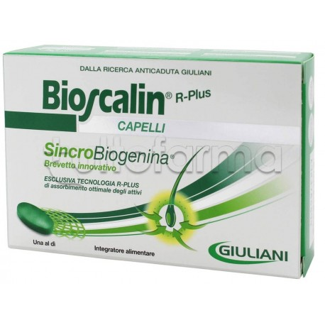 Bioscalin R-Plus Sincrobiogenina 30 Compresse