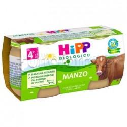 Hipp Biologico Omogeneizzato Manzo 2 x 80g