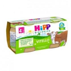 Hipp Biologico Omogeneizzato Vitello 2 x 80g