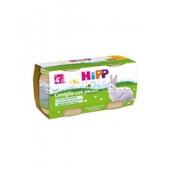 Hipp Omogeneizzato Coniglio con Patate 2 x 80g
