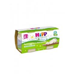 Hipp Biologico Omogeneizzato Formaggino e Mozzarella 2 x 80g