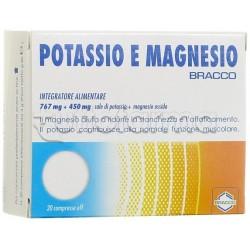 Bracco Integratore Potassio E Magnesio 20 Compresse Effervescenti