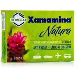 Bracco Xamamina Natura Integratore Antinausea 10 Capsule
