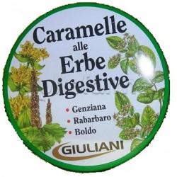 Caramelle Alle Erbe Digestive Giuliani Scatola 60 gr