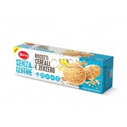 Doria Biscotti Cereali e Zenzero Senza Glutine 4 Confezioni da 3 Biscotti
