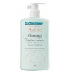 Avene Cleanance Hydra Crema Detergente Lenitiva Viso 400ml