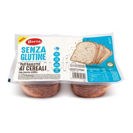 Doria Pan Bauletto ai Cereali Senza Glutine 2 Confezioni da 175g