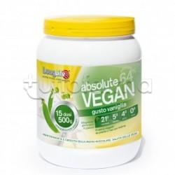 Longlife Absolute Vegan Integratore con Proteine Vegetali 500g