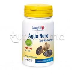Longlife Aglio Nero Integratore per Pressione e Colesterolo 60 Capsule