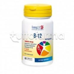 Longlife B12 1000mcg Integratore con Vitamina B 60 Tavolette
