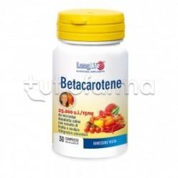 Longlife Betacarotene Integratore per la Vista 30 Compresse