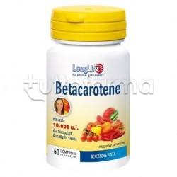 Longlife Betacarotene Integratore per la Vista 60 Compresse