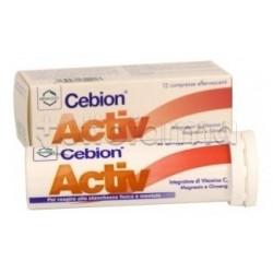 Cebion Activ Integratore Energetico 12 Compresse Effervescenti