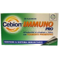 Cebion Immuno Pro Integratore Alimentare 10 Flaconcini 10 ml