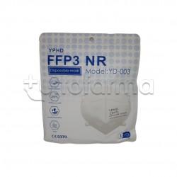 Mascherina Respiratoria Filtrante FFP3 PharmaBio Certificata CE 1 Mascherina