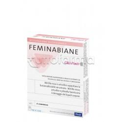 Biocure Feminabiane CBU Flash Integratore Drenante per Benessere Vie Urinarie 6 Compresse