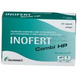Inofert Combi HP Integratore per Funzionalità Ovarica 20 Capsule Molli
