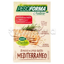 Pesoforma Pasto Gusto Mediterraneo 8 Pocket da 30g