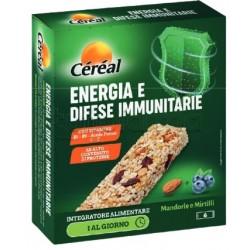 Cereal Energia e Difese Immunitarie Integratore in Barretta 6 Pezzi