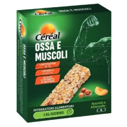 Cereal Ossa e Muscoli Integratore in Barretta 6 Pezzi
