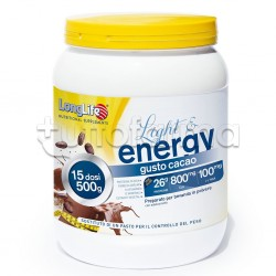 Longlife Light & Energy Gusto Cacao Sostituto Pasto 500g
